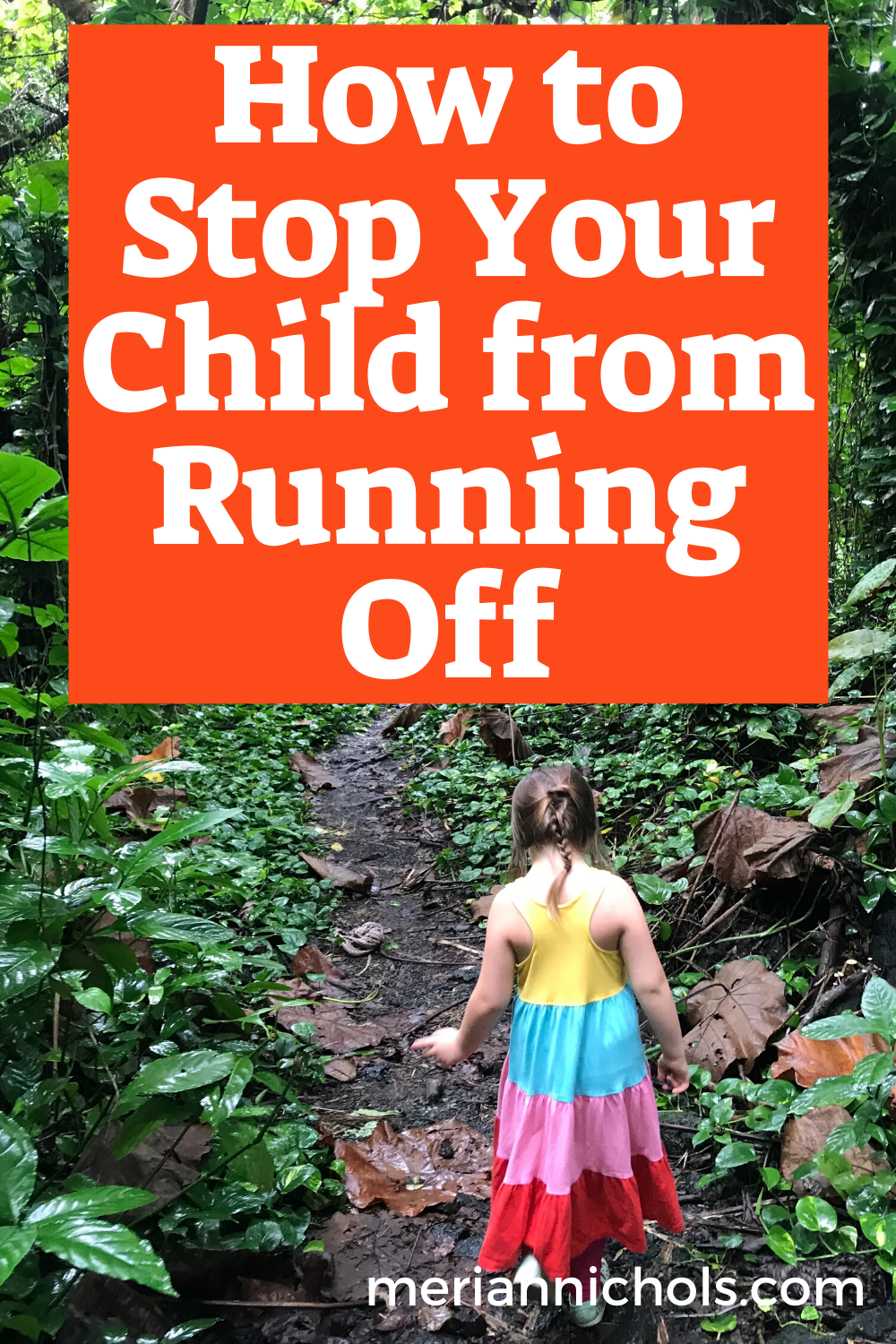 How to Stop Your Child from Running Off: A Guide for Parents of Children with Autism and Down Syndrome