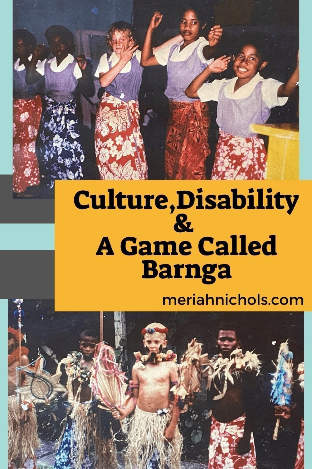 culture, disability and a game called barnga