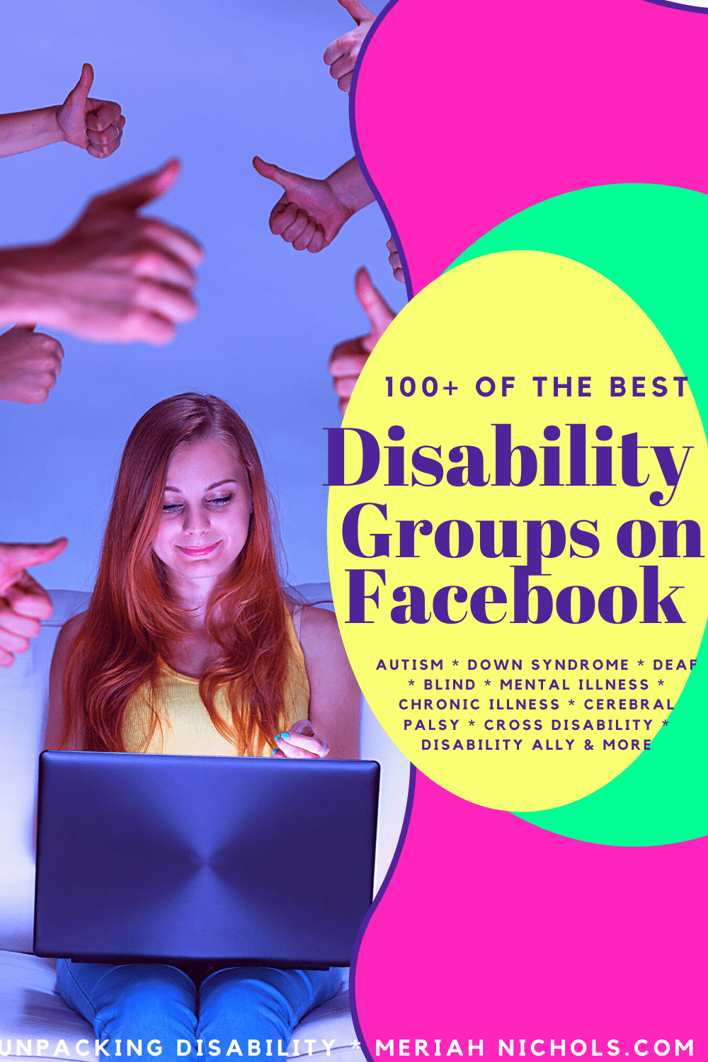 disability groups on facebook