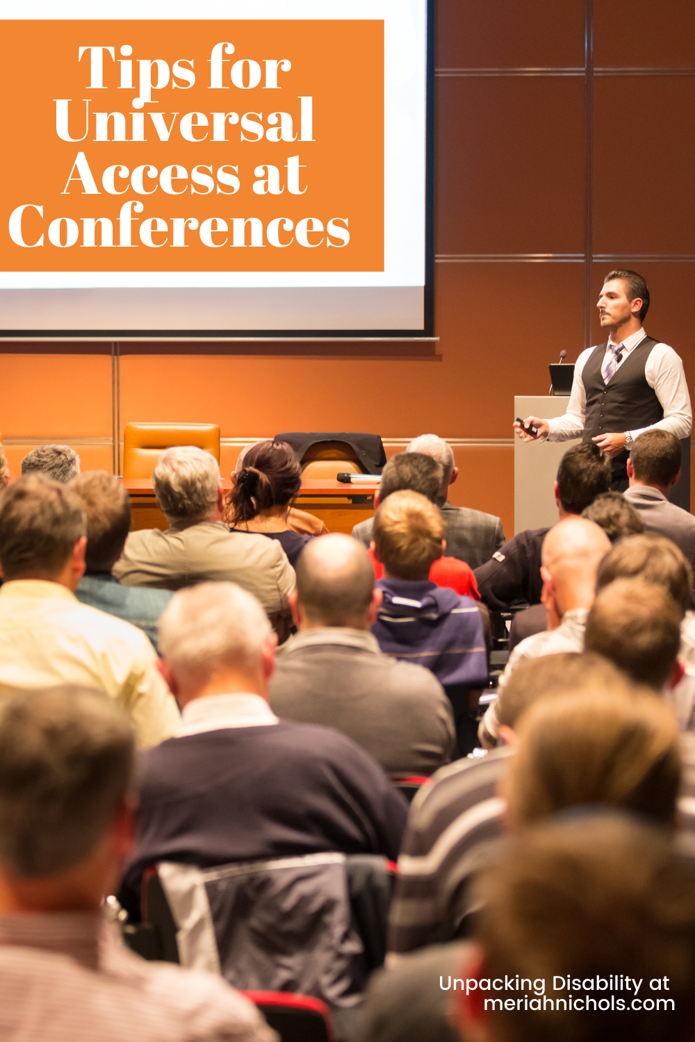 tips for universal access at conferences